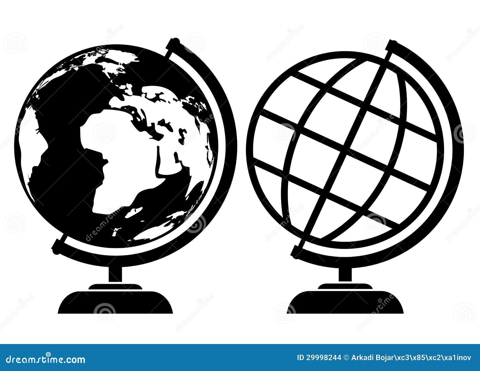 Иконы глобуса вектора