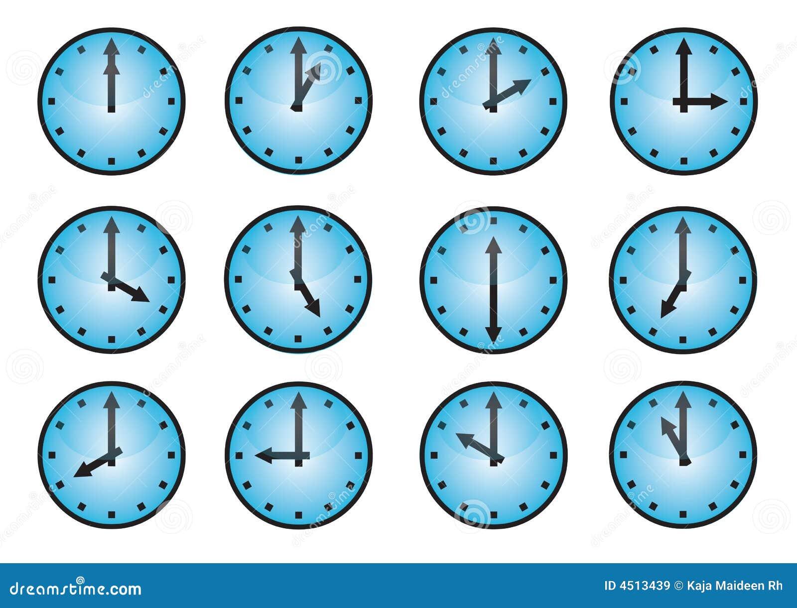 иконы часов различные