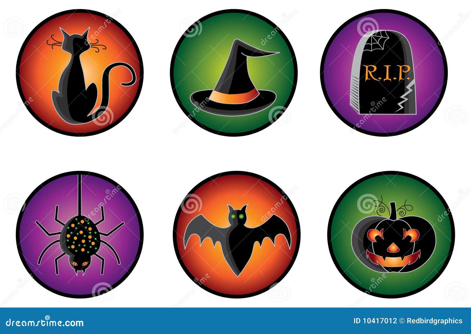 иконы halloween
