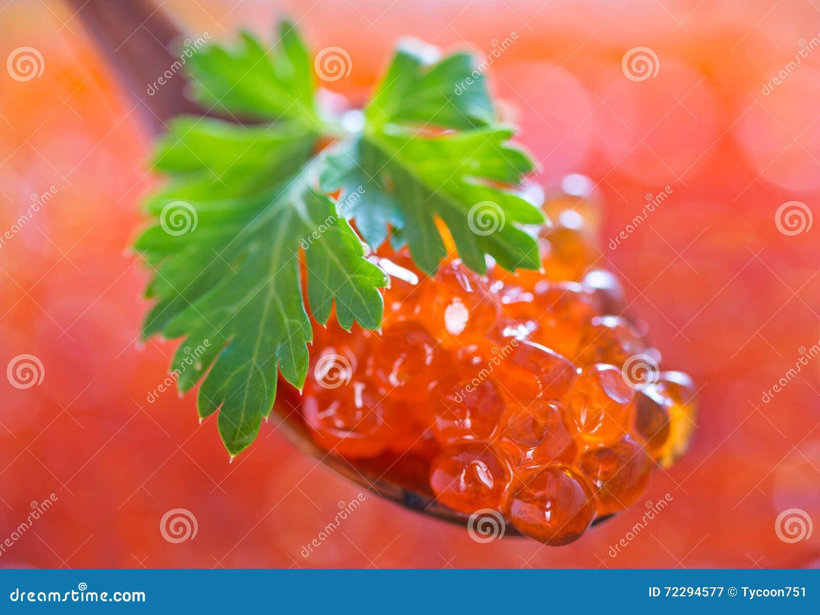 Download Икра красных семг стоковое изображение. изображение насчитывающей померанцово - 72294577