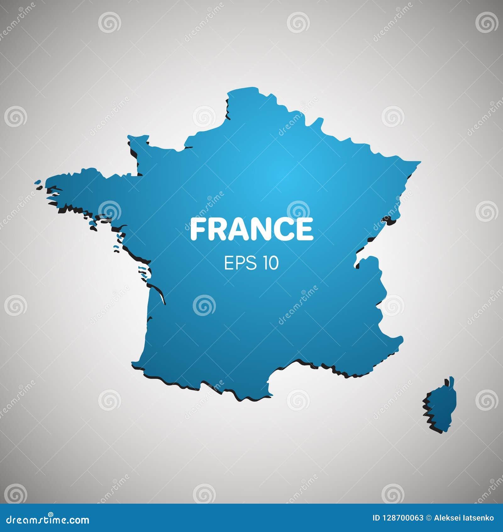 голубая карта франция