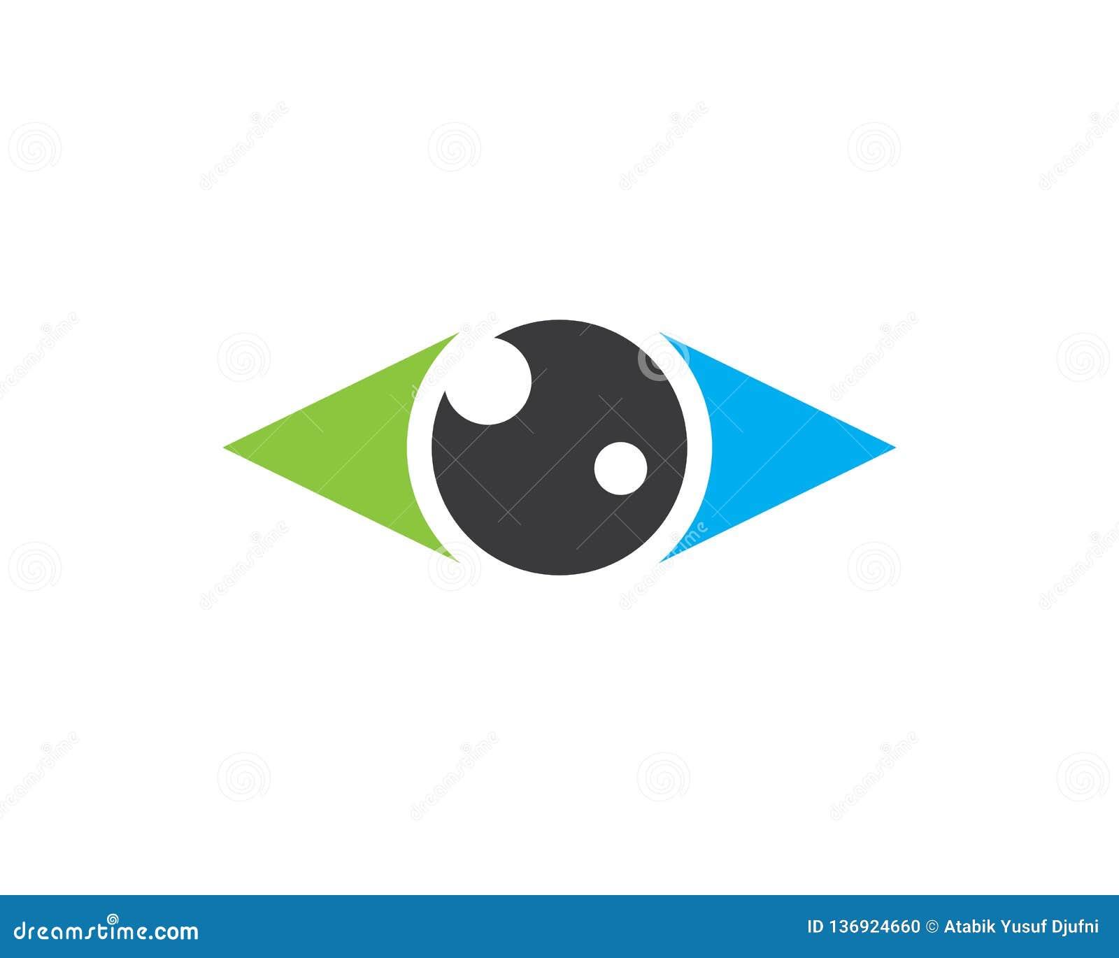 Иллюстрация значка глаза