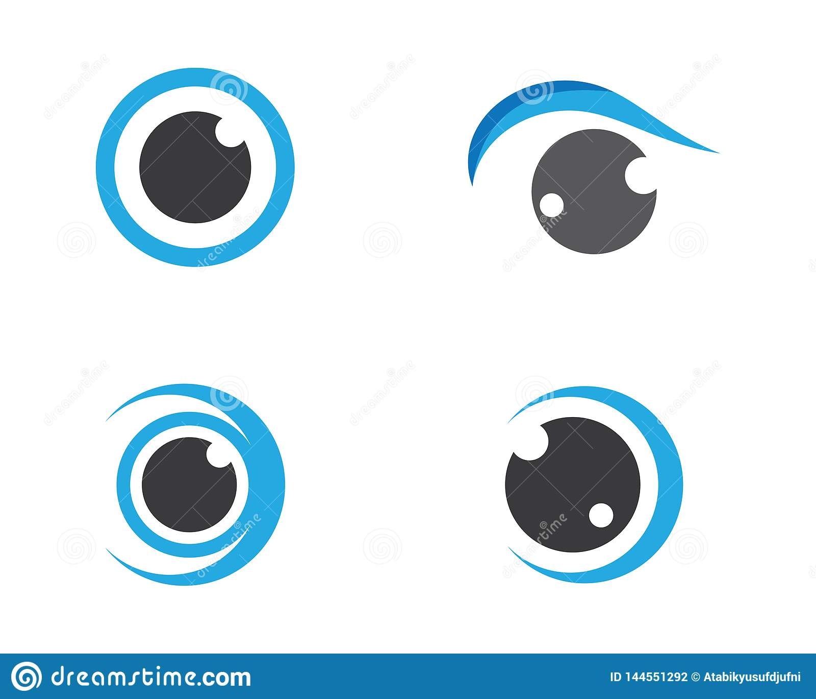 Иллюстрация символа глаза
