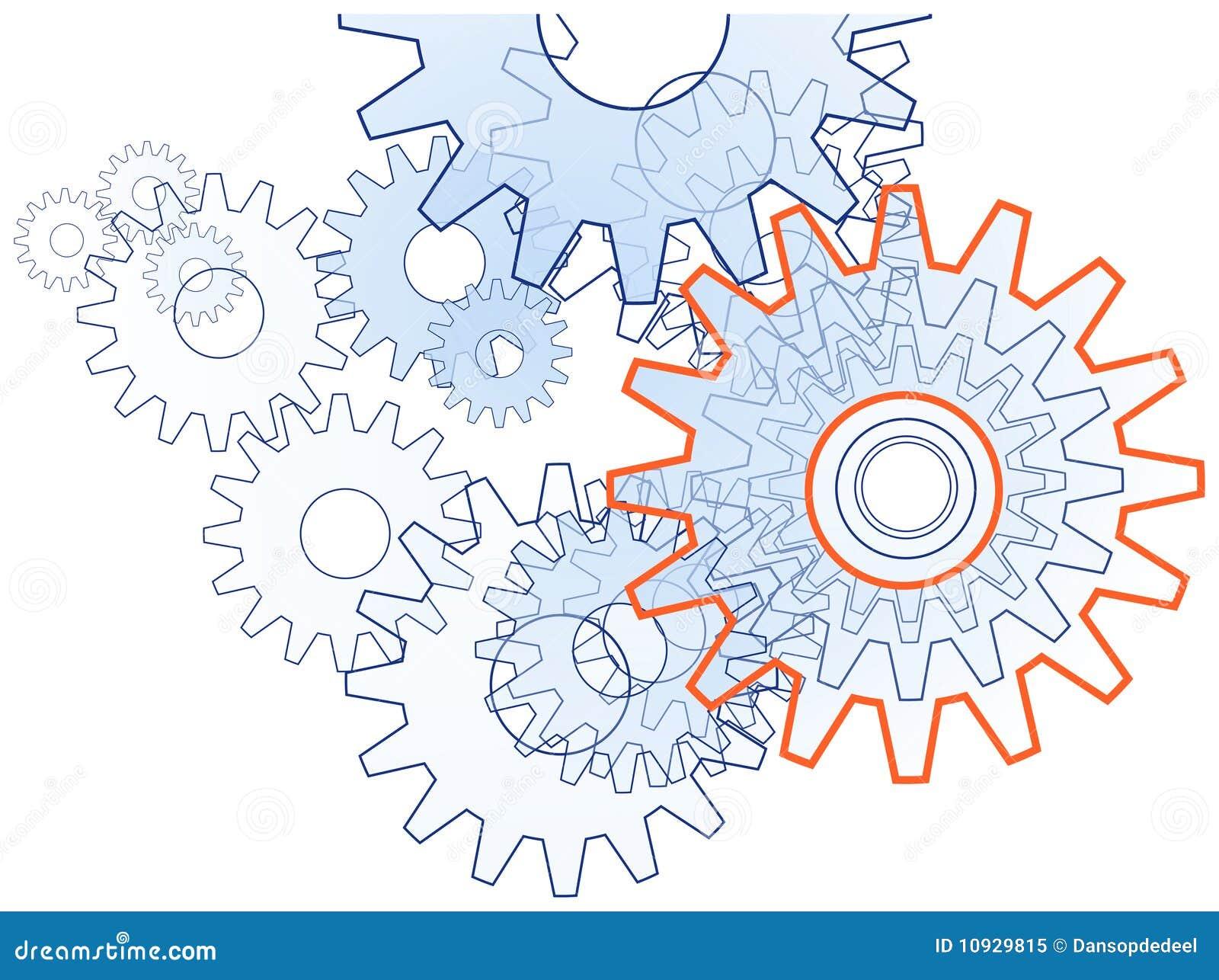 иллюстрация шестерни
