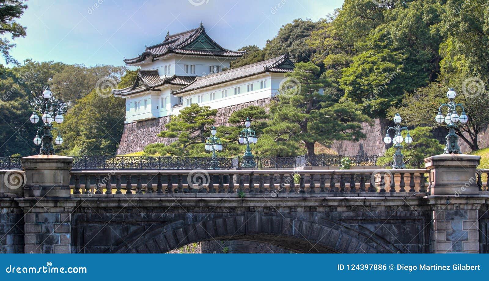 Имперский дворец на токио