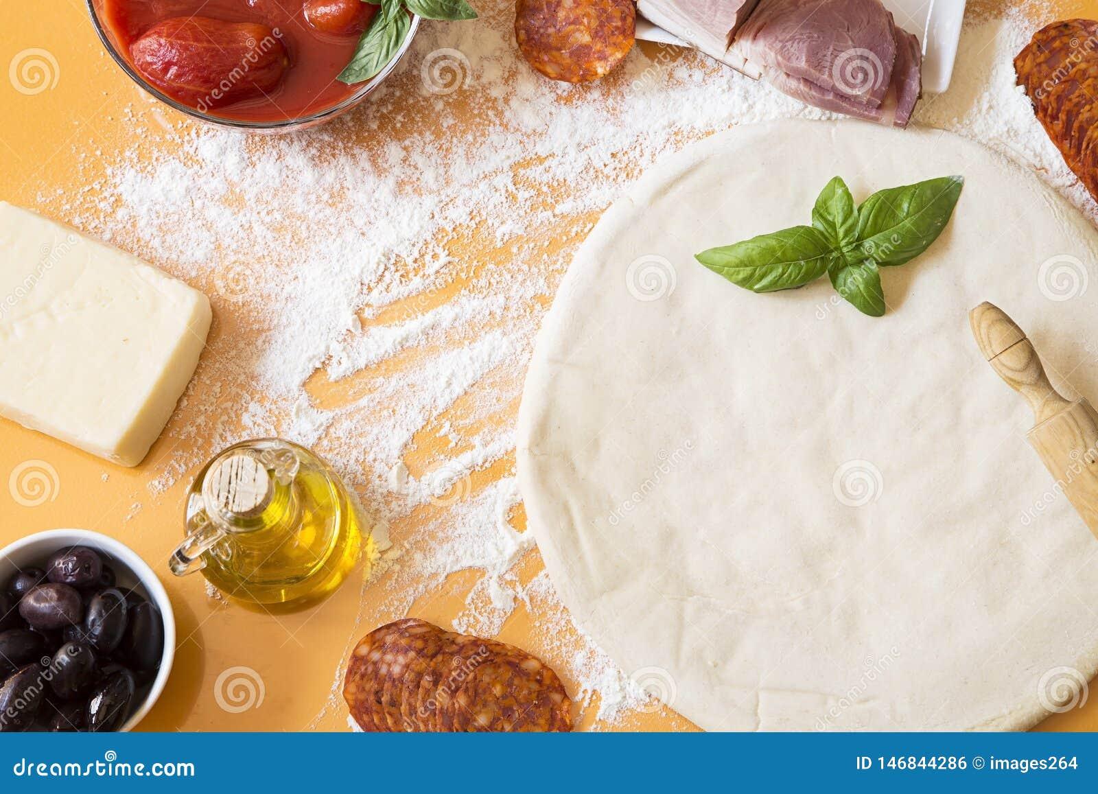 Ингредиенты пиццы