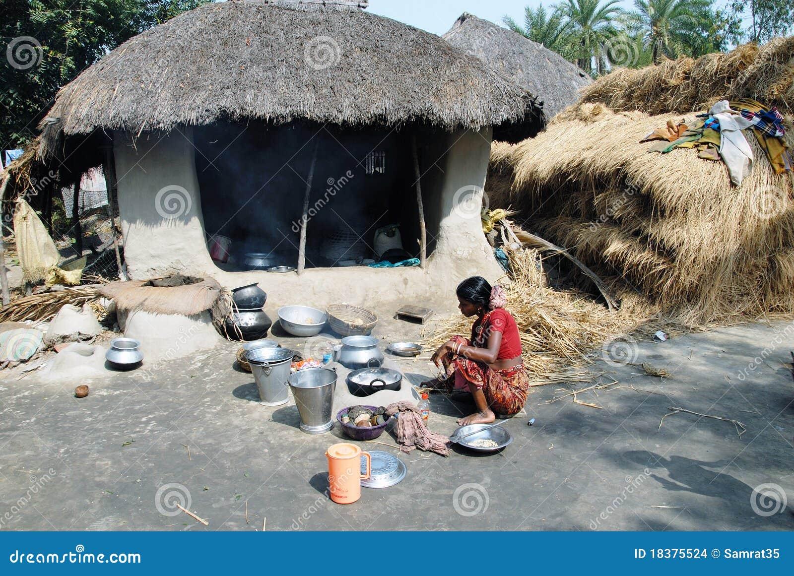 индийское село жизни