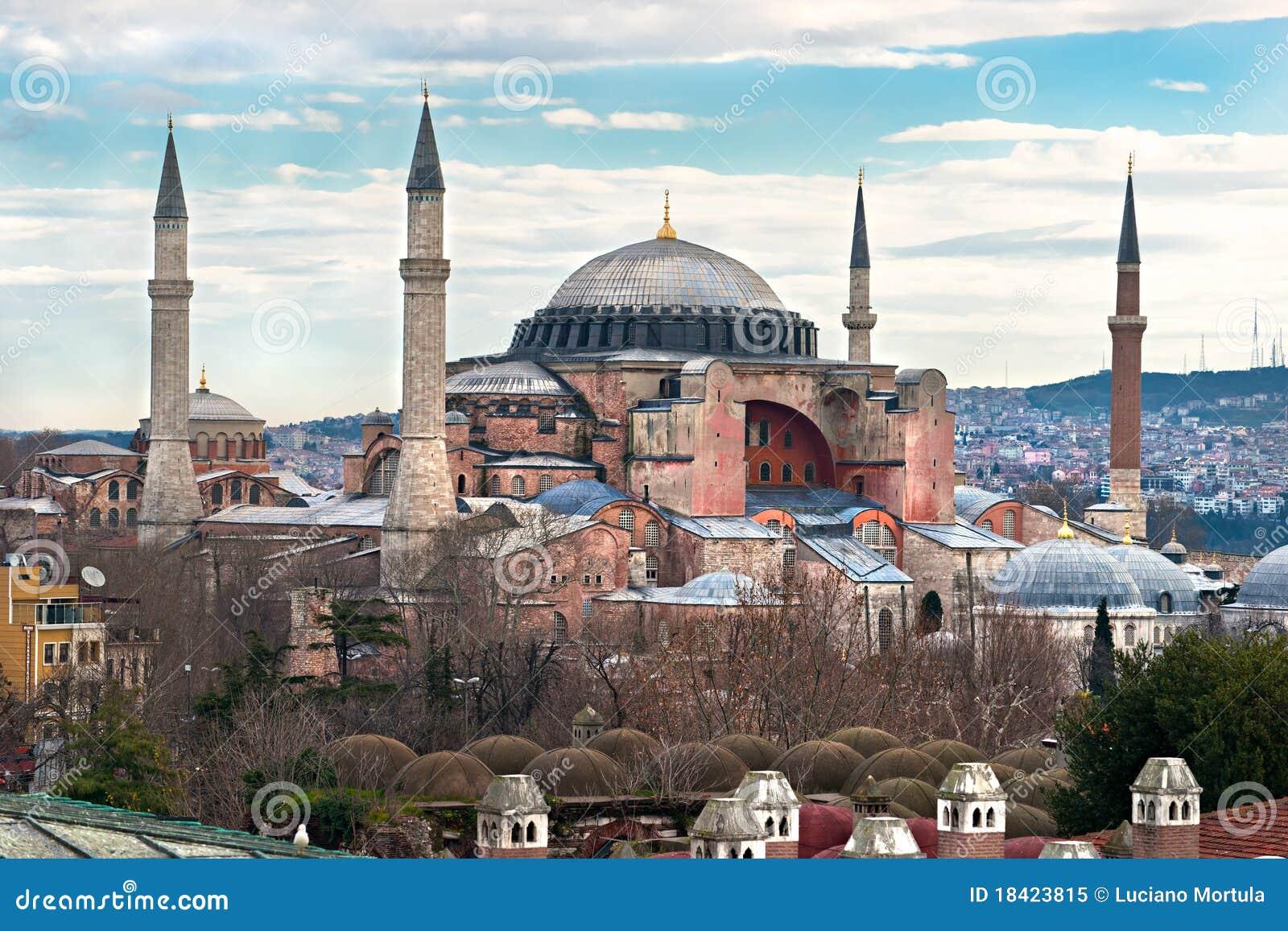 индюк sophia мечети istanbul hagia
