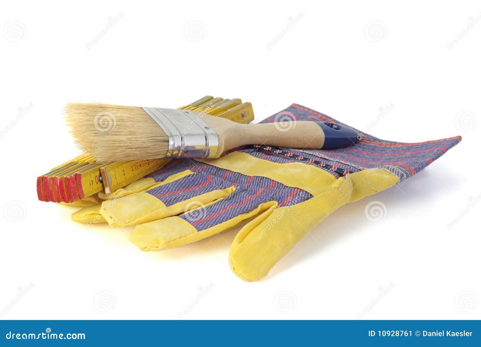 инструменты колеривщика дома