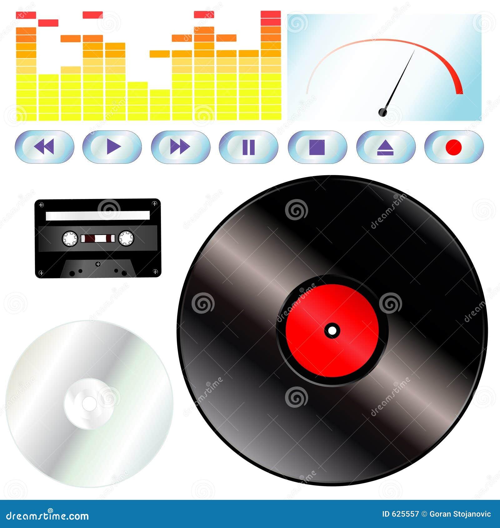 Download инструменты нот иллюстрация штока. иллюстрации насчитывающей аукционов - 625557