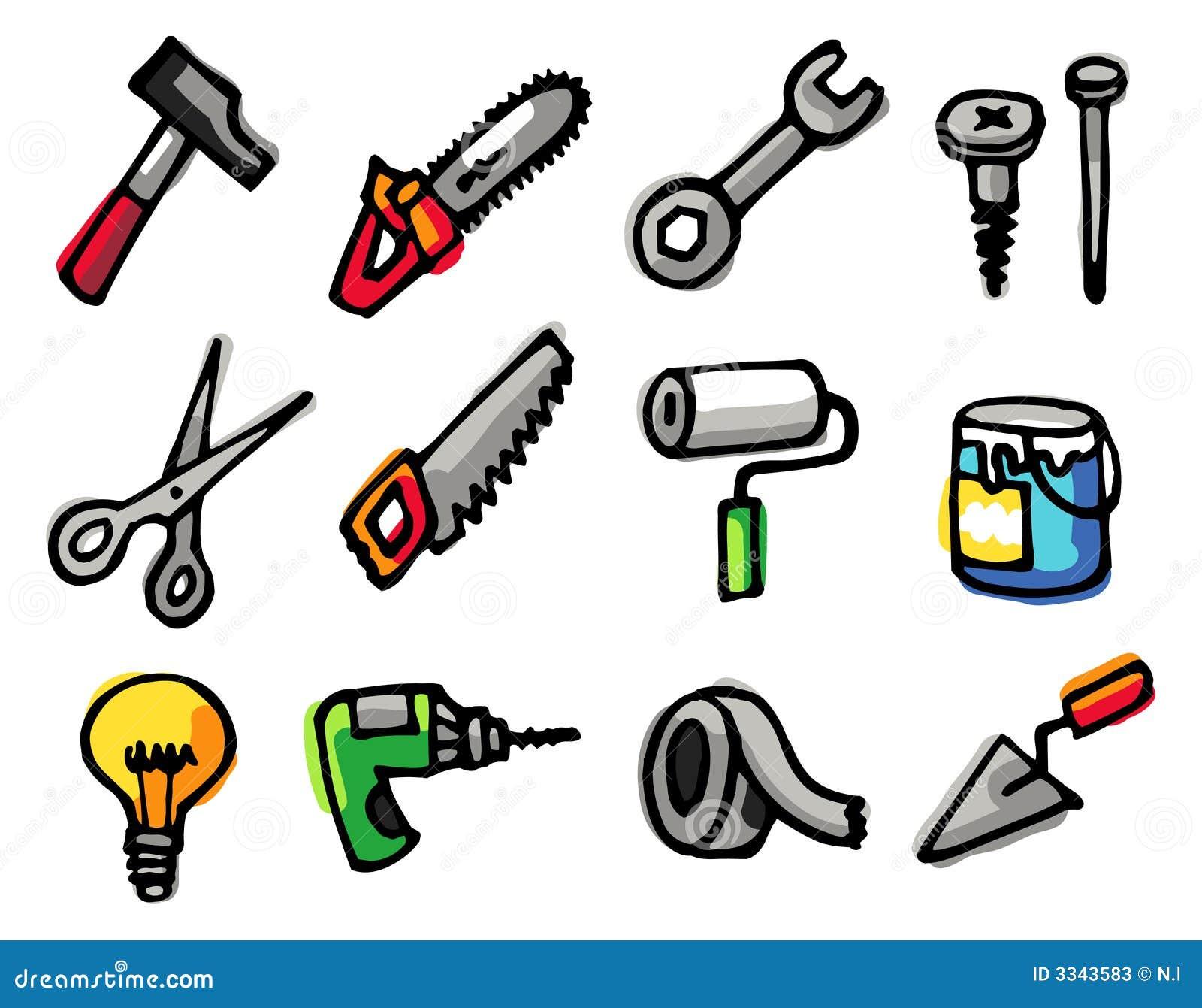 инструменты предметов икон