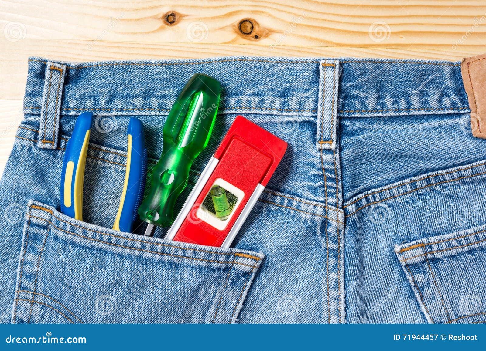 Инструмент и джинсы