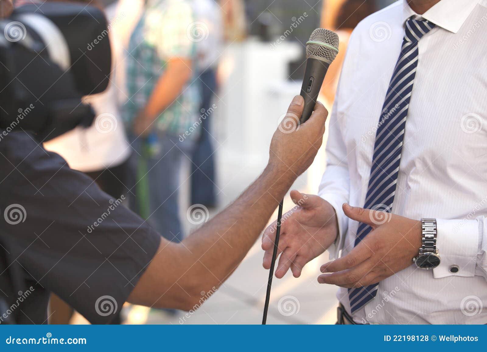 интервью бизнесмена