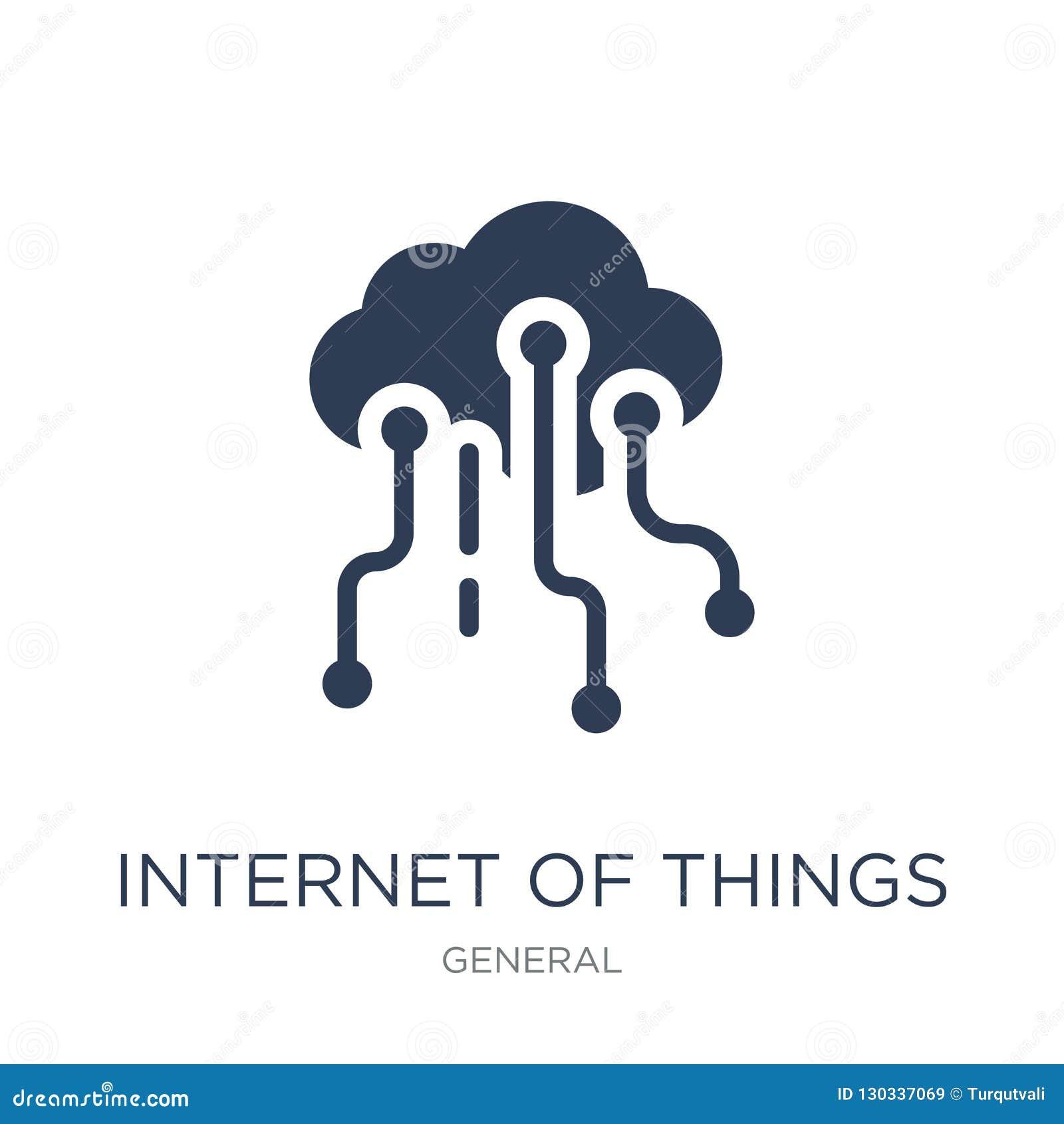 Интернет значка вещей
