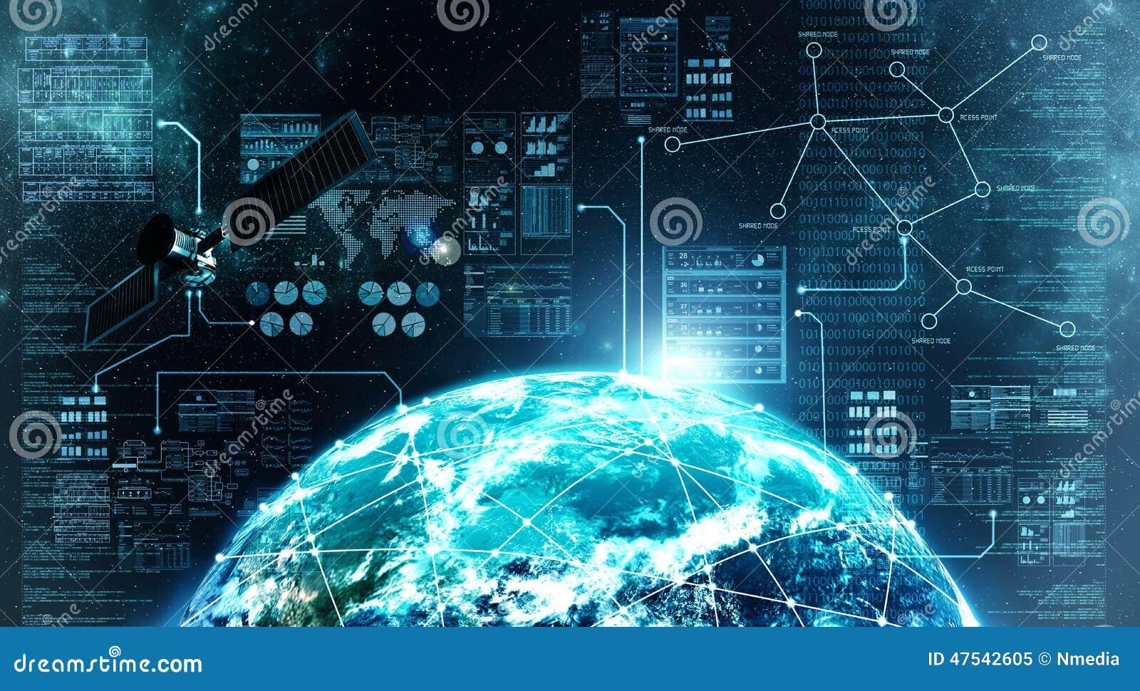 Интернет-связь в космическом пространстве