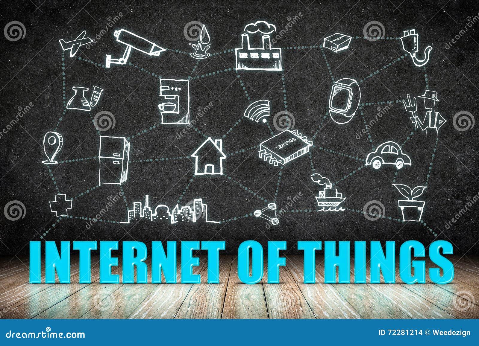 Download Интернет слова вещей (IoT) на деревянном поле с значком Doodle дальше Иллюстрация штока - иллюстрации насчитывающей маркетинг, передвижно: 72281214