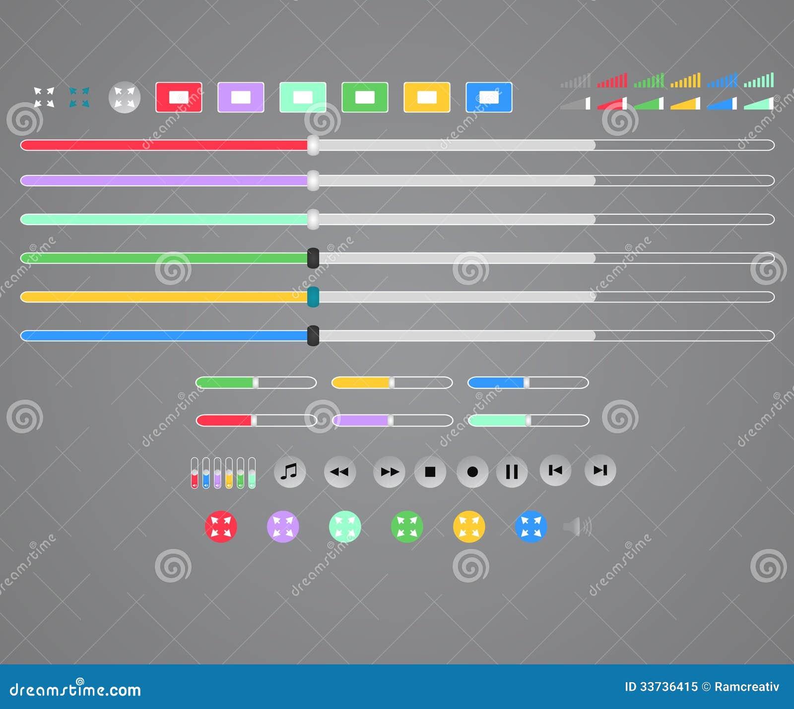 Интерфейс медиа-проигрывателя