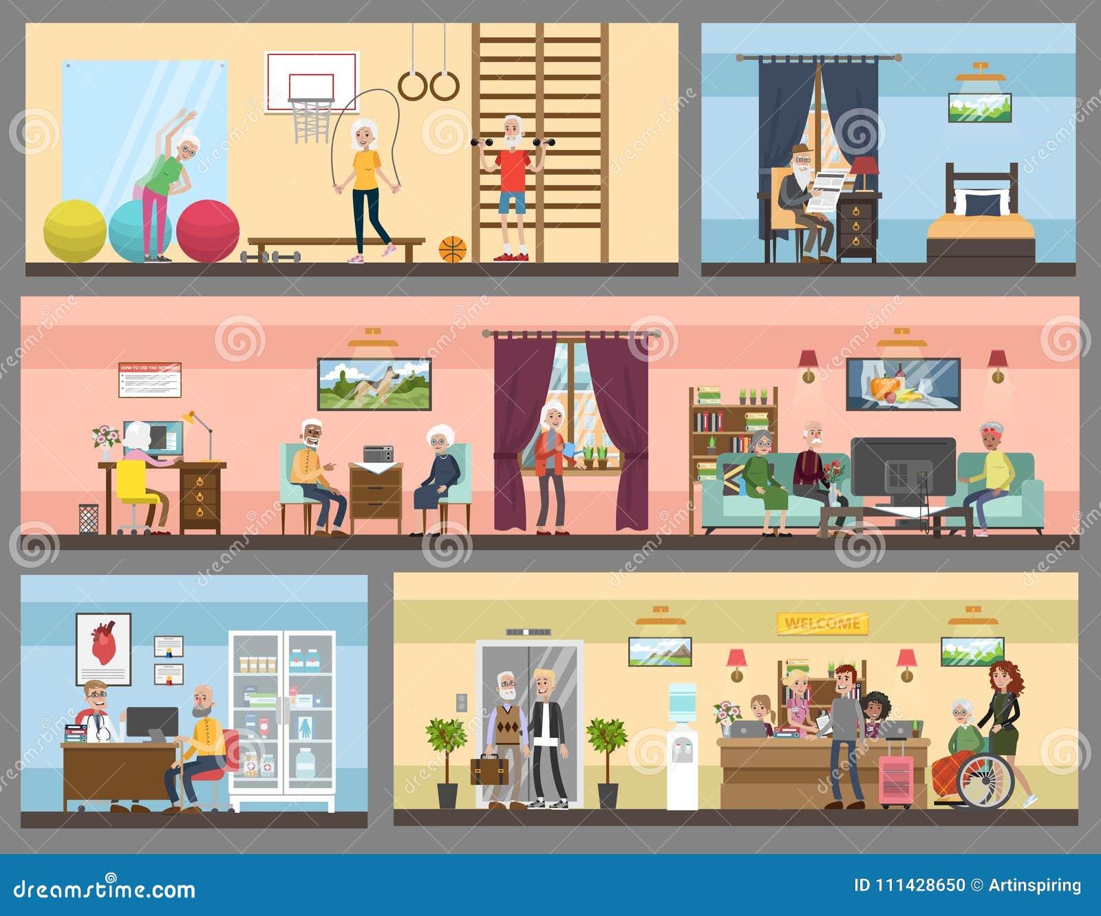 Веб в дом престарелых оформление в частные дома престарелых