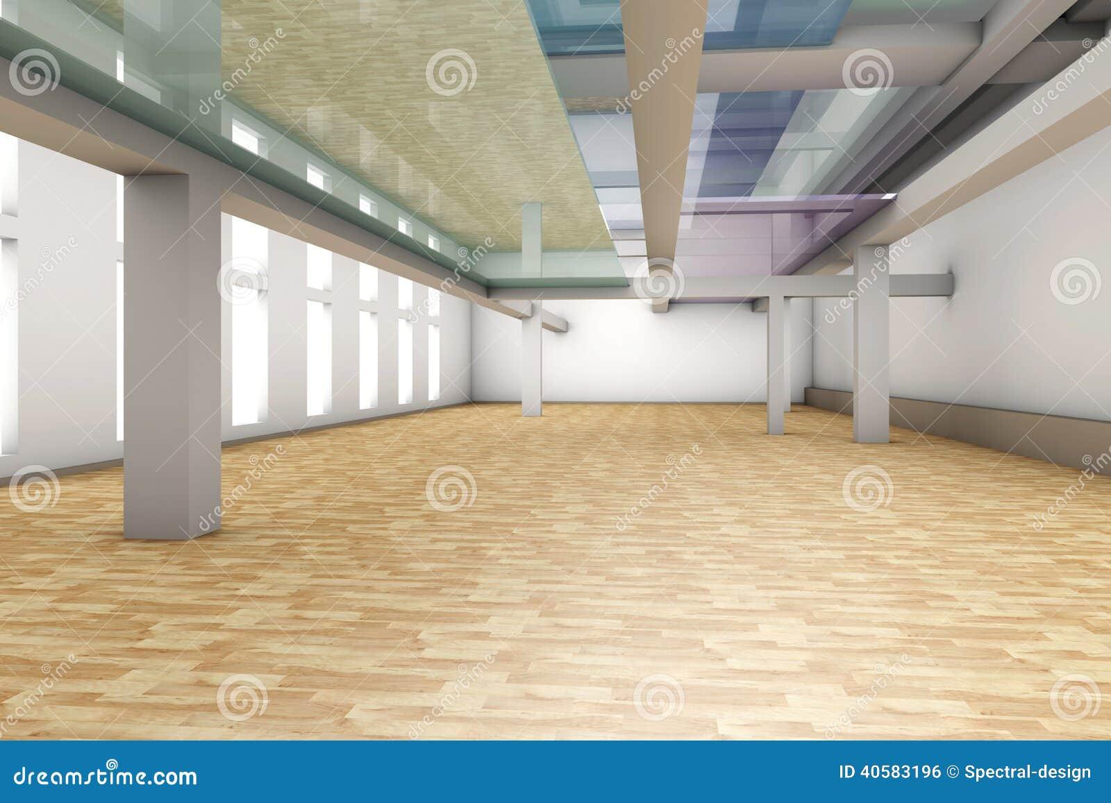 интерьер квартиры пустой