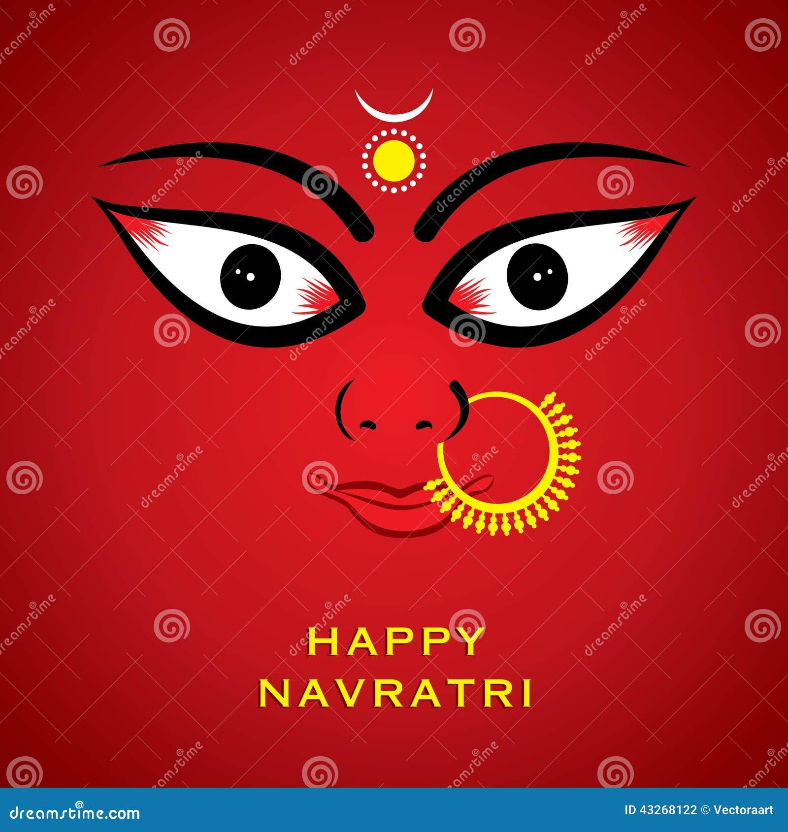 Индийская предпосылка стороны devi durga богини