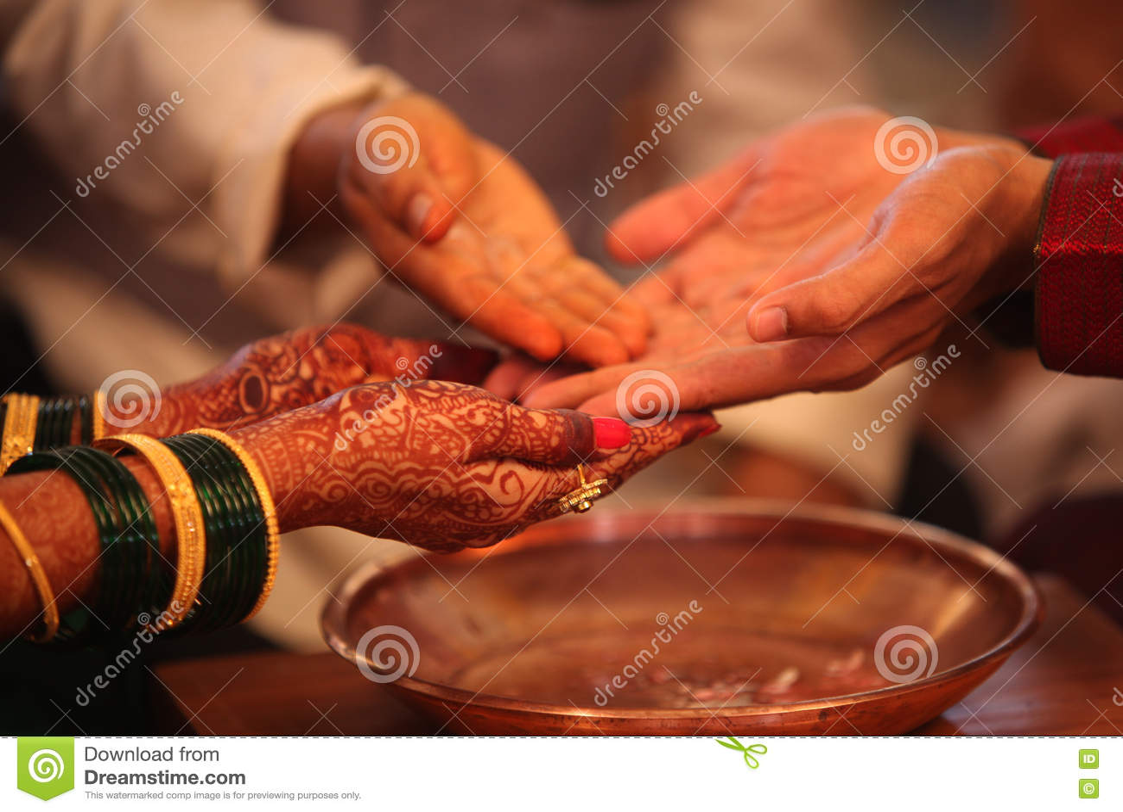 индийское ритуальное венчание