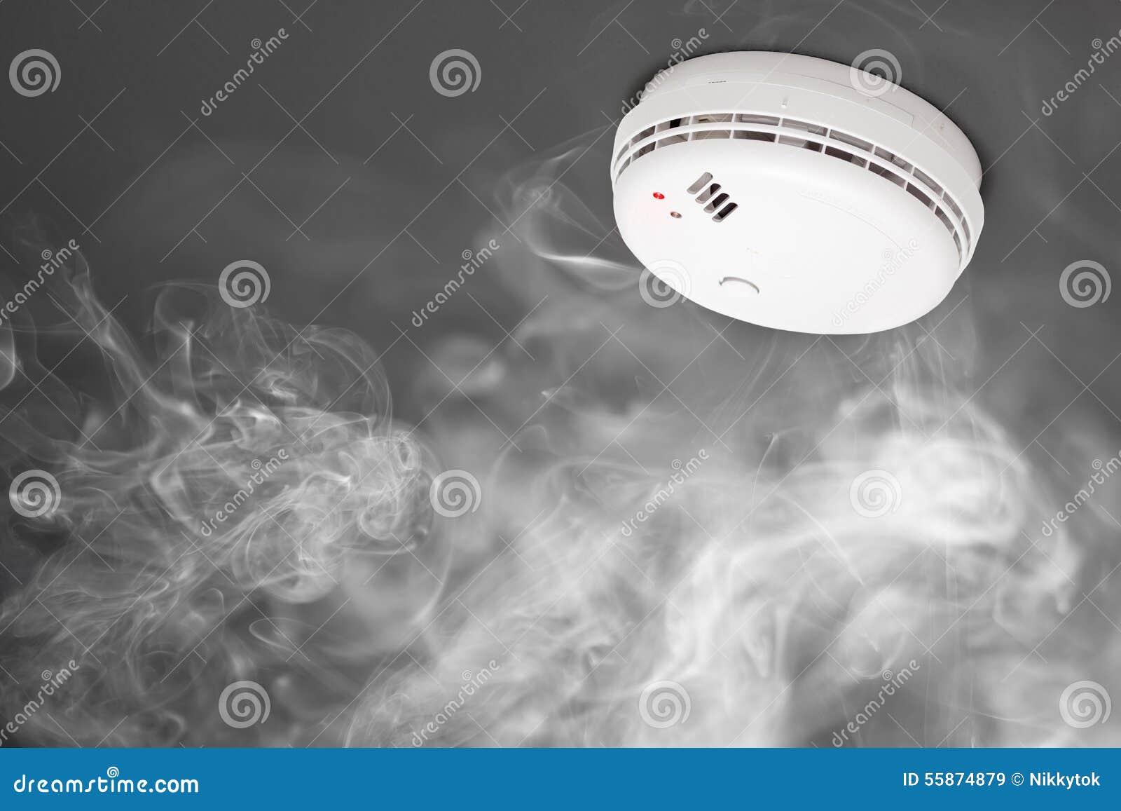 Индикатор дыма пожарной сигнализации