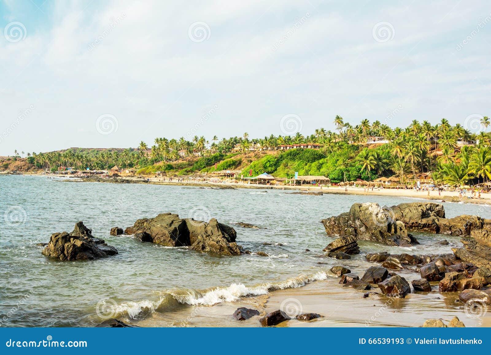 Индия, Goa, пляж Vagator
