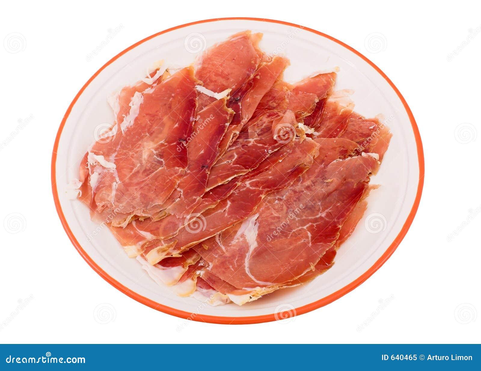 Download испанский язык ветчины стоковое изображение. изображение насчитывающей тучно - 640465
