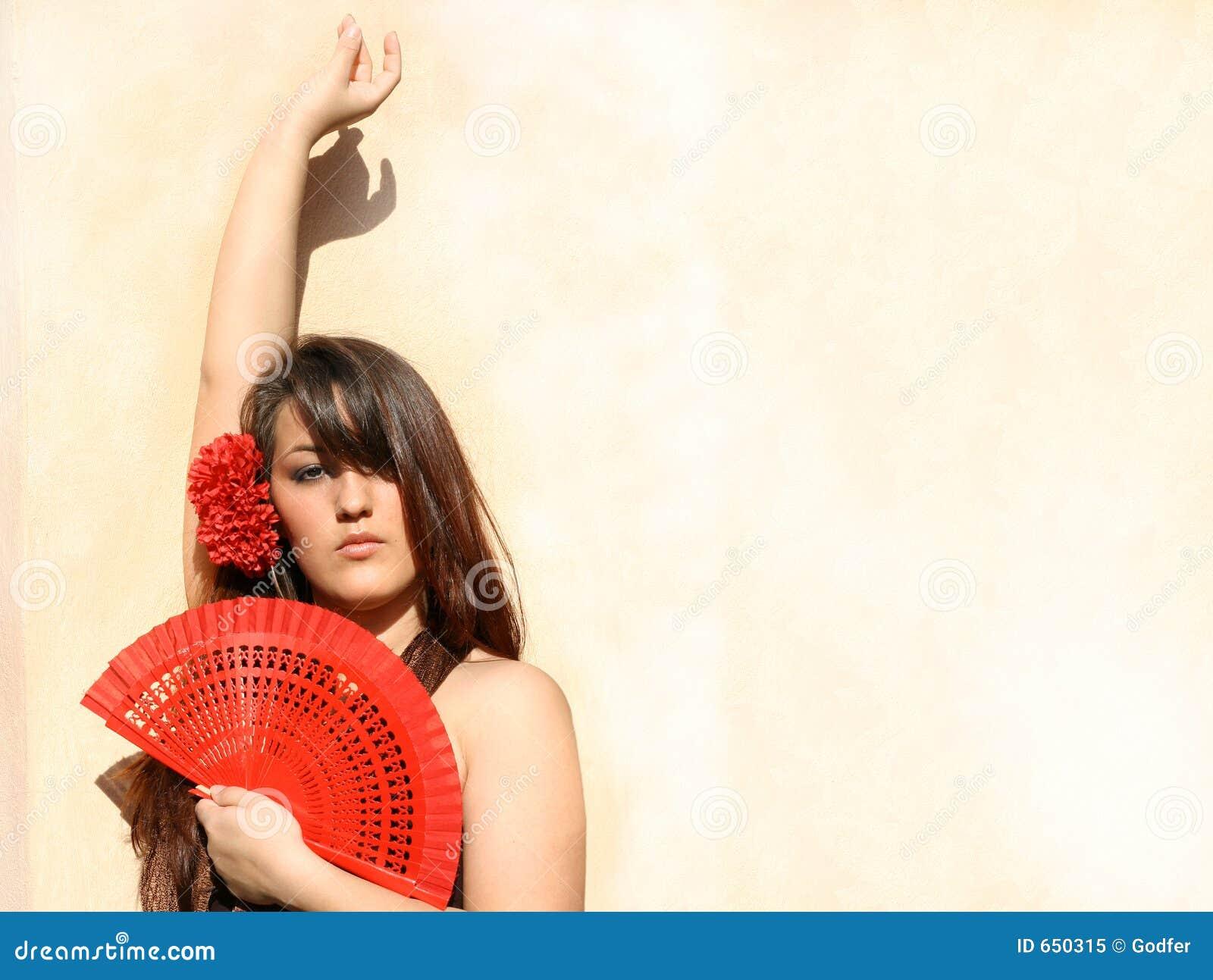 испанский язык Испании flamenco танцора