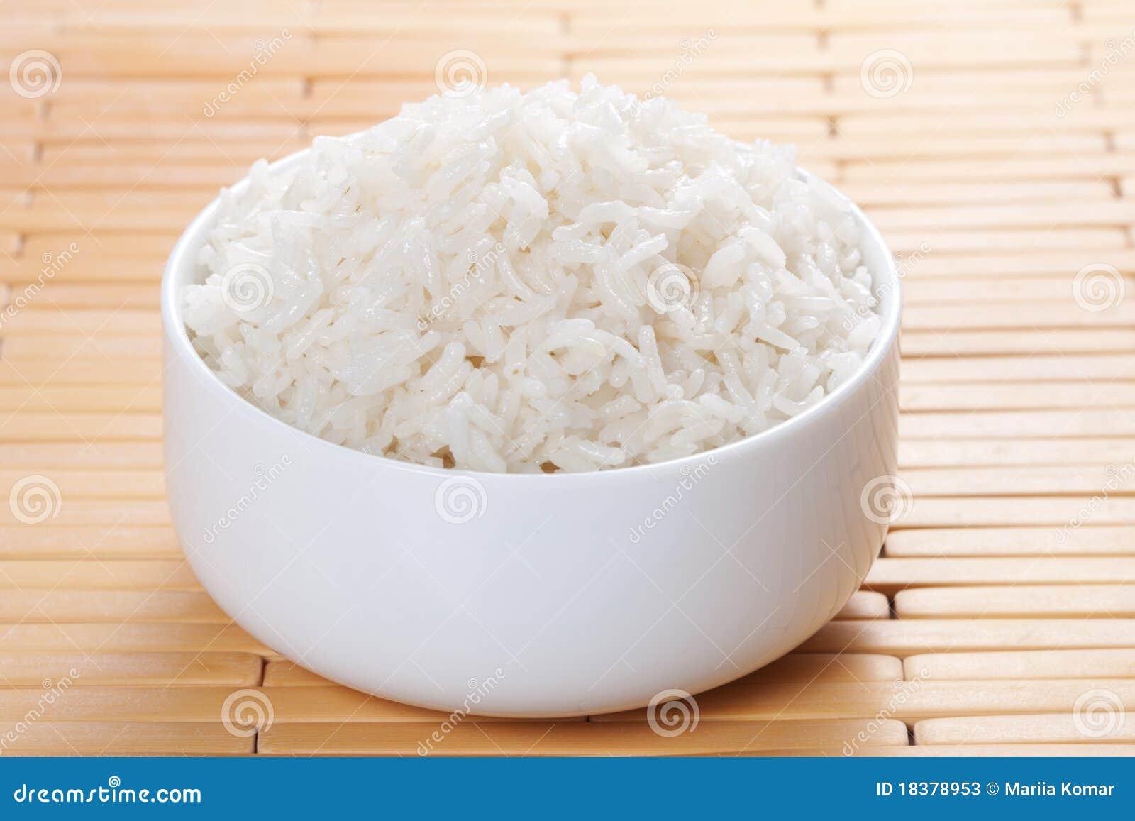 испаренный рис шара