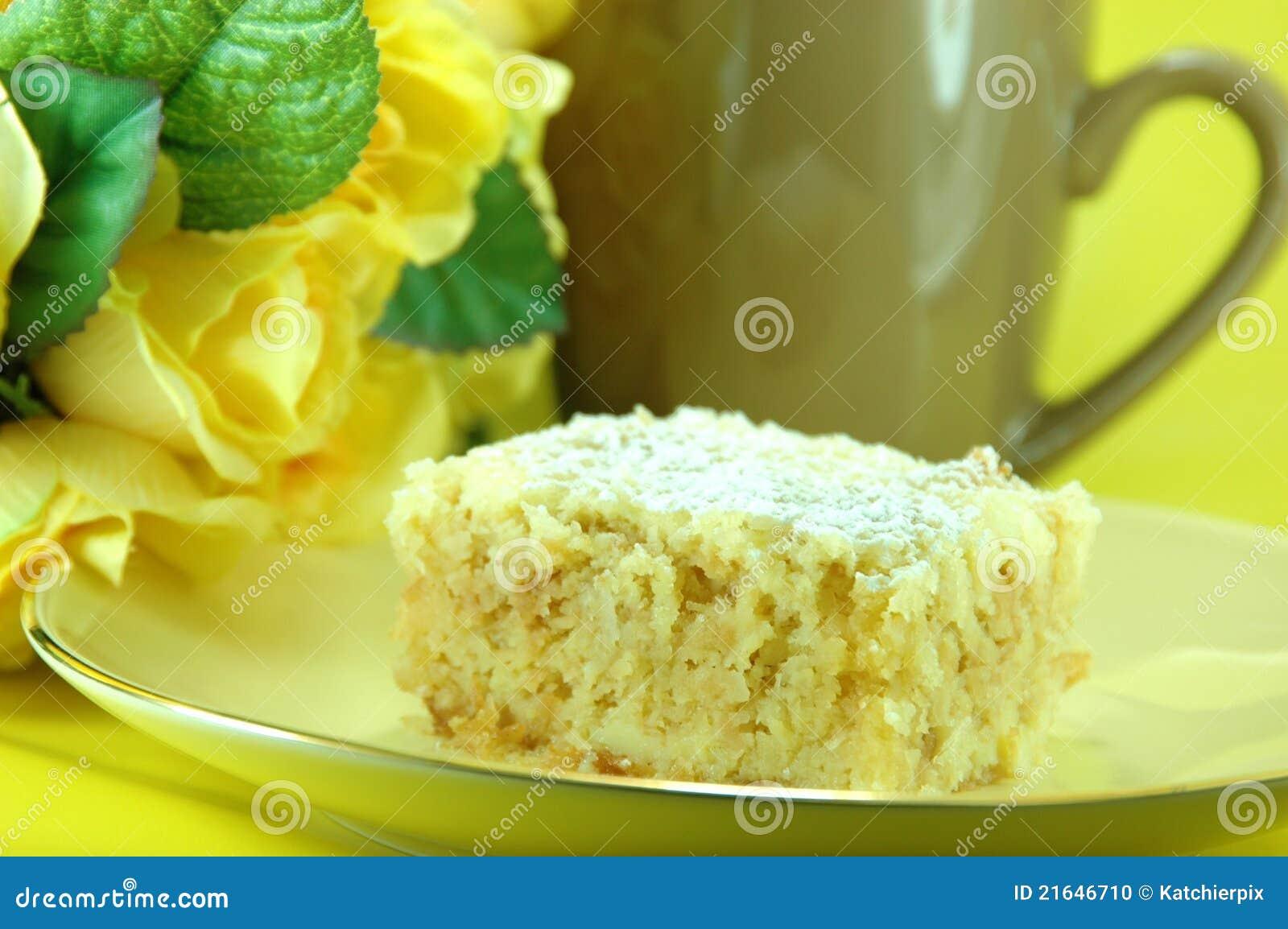 испеките ломтик лимона crumble