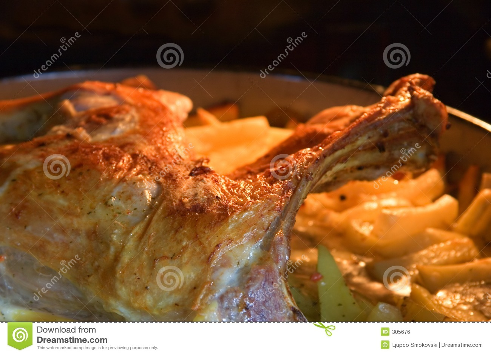 испеченные зажаренные в духовке картошки овечки