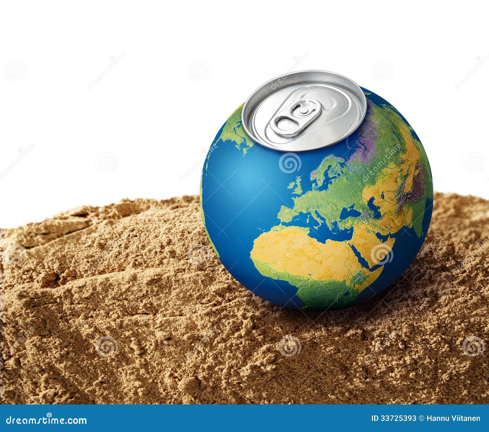 Испытывающая жажду принципиальная схема планеты