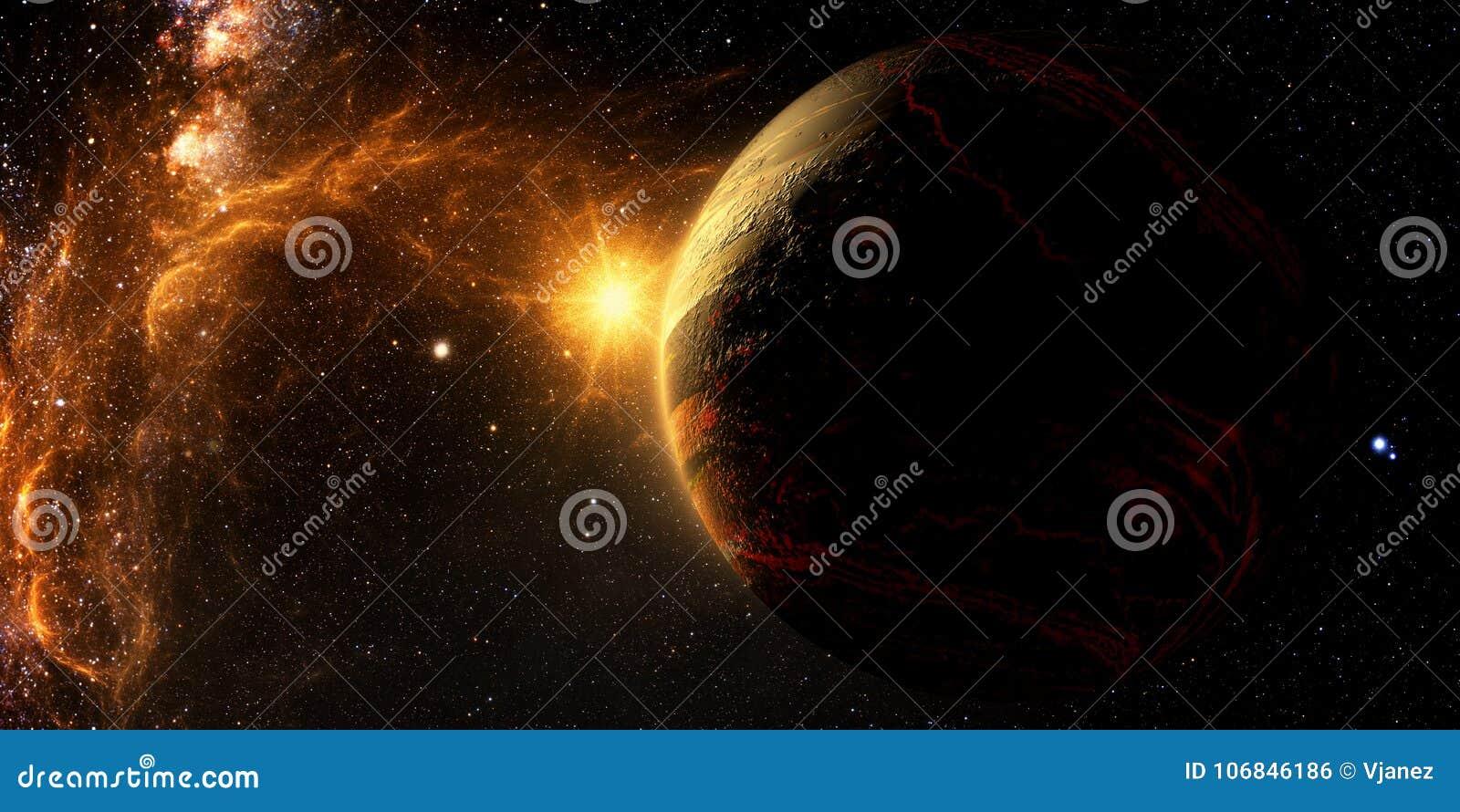 Исследование Exoplanet - фантазия