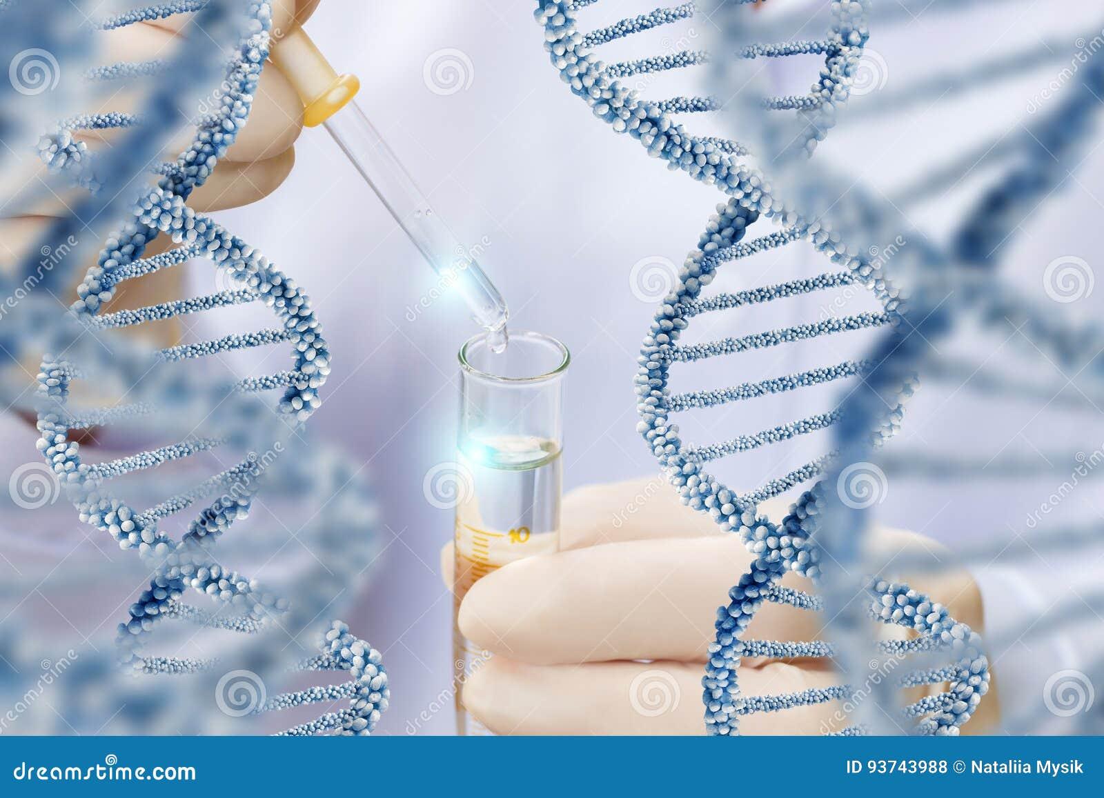 Исследование над структурой молекулы дна