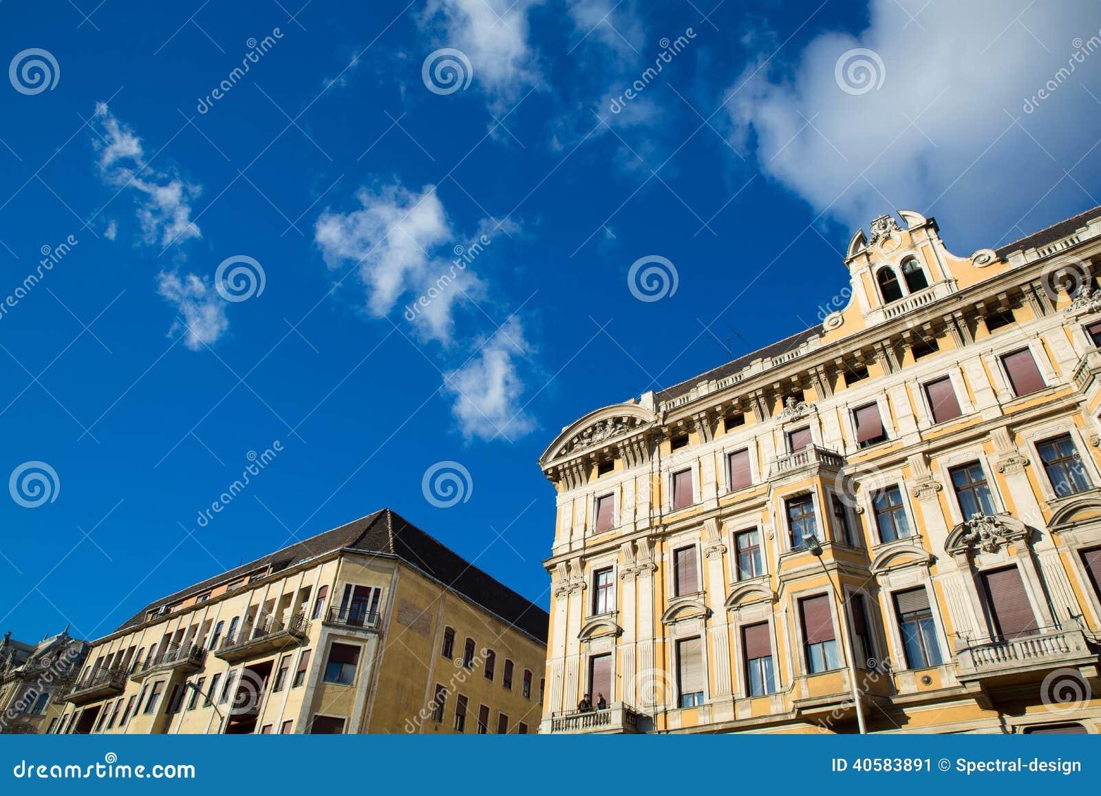 Историческая архитектура в Будапеште