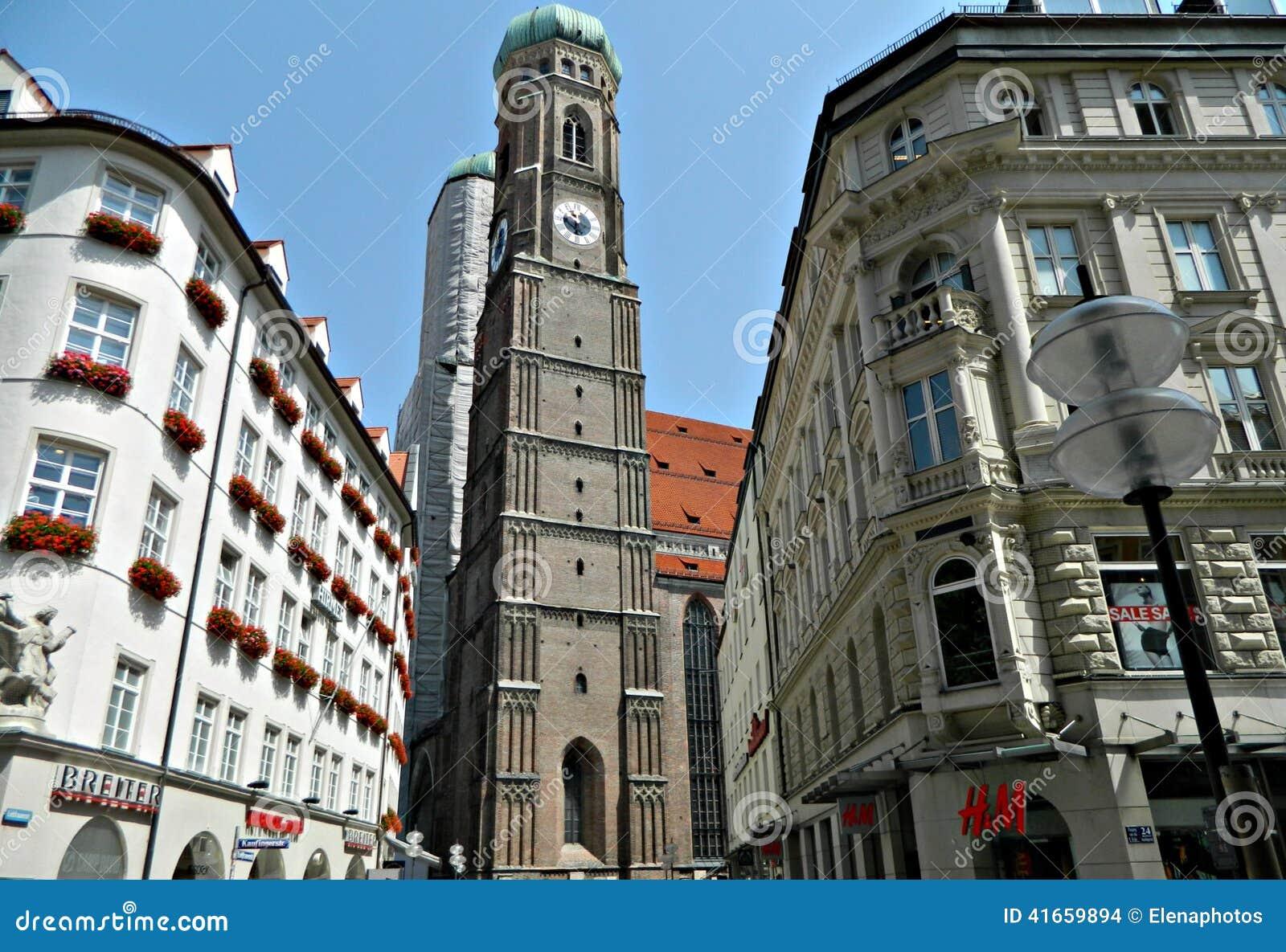 Историческая архитектура в Мюнхене