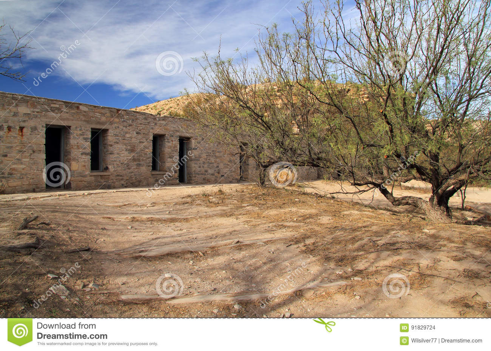 Исторические руины мотеля