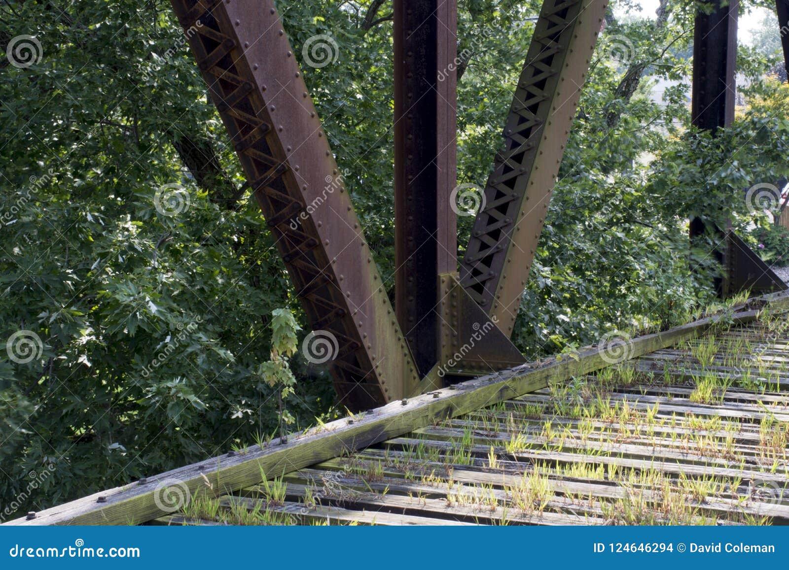 Исторический железнодорожный мост Marietta Огайо