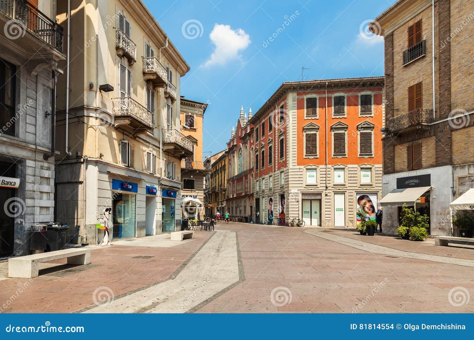 Исторический центр Allesanria, Италии