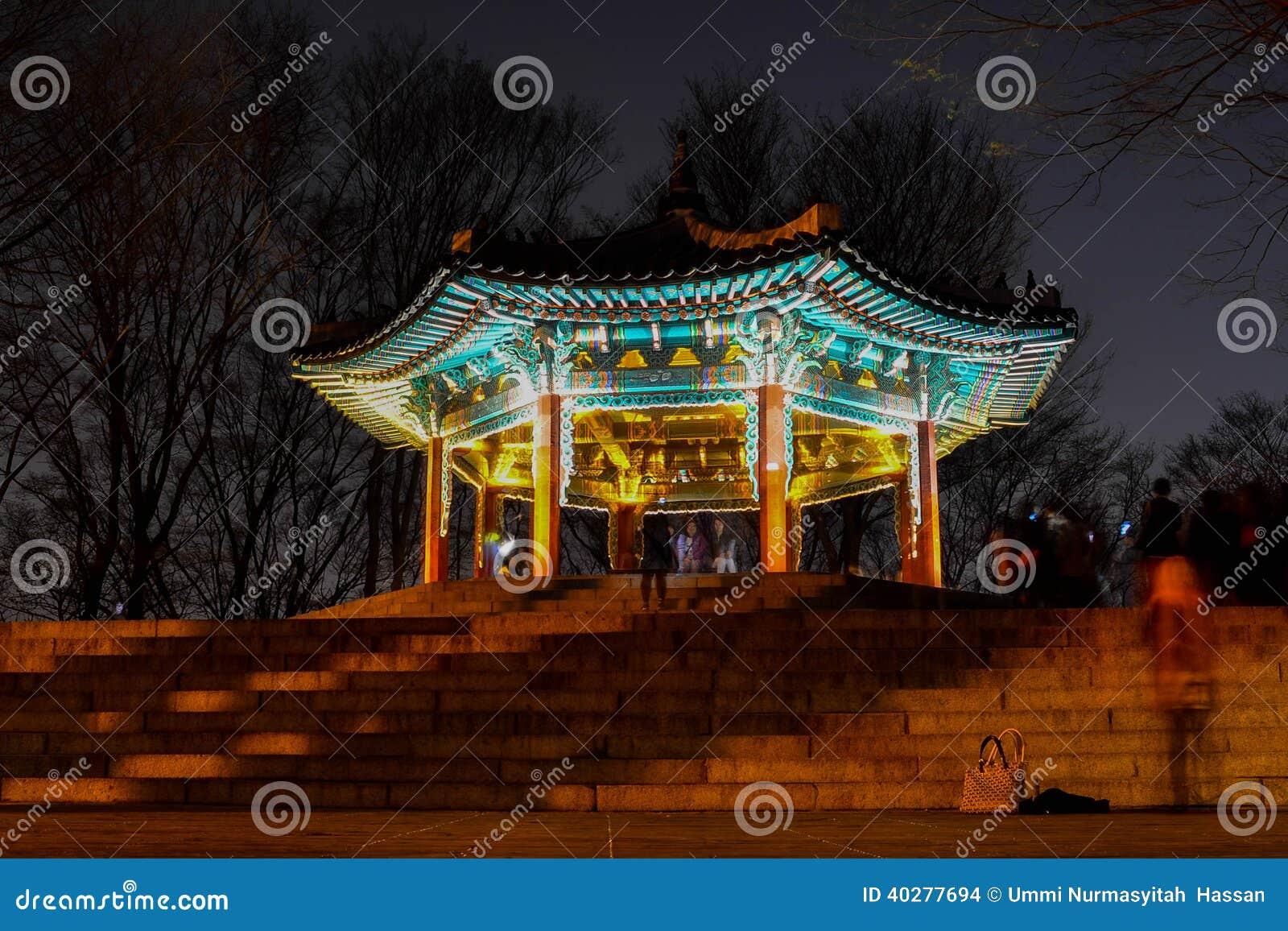 Историческое здание в Корее