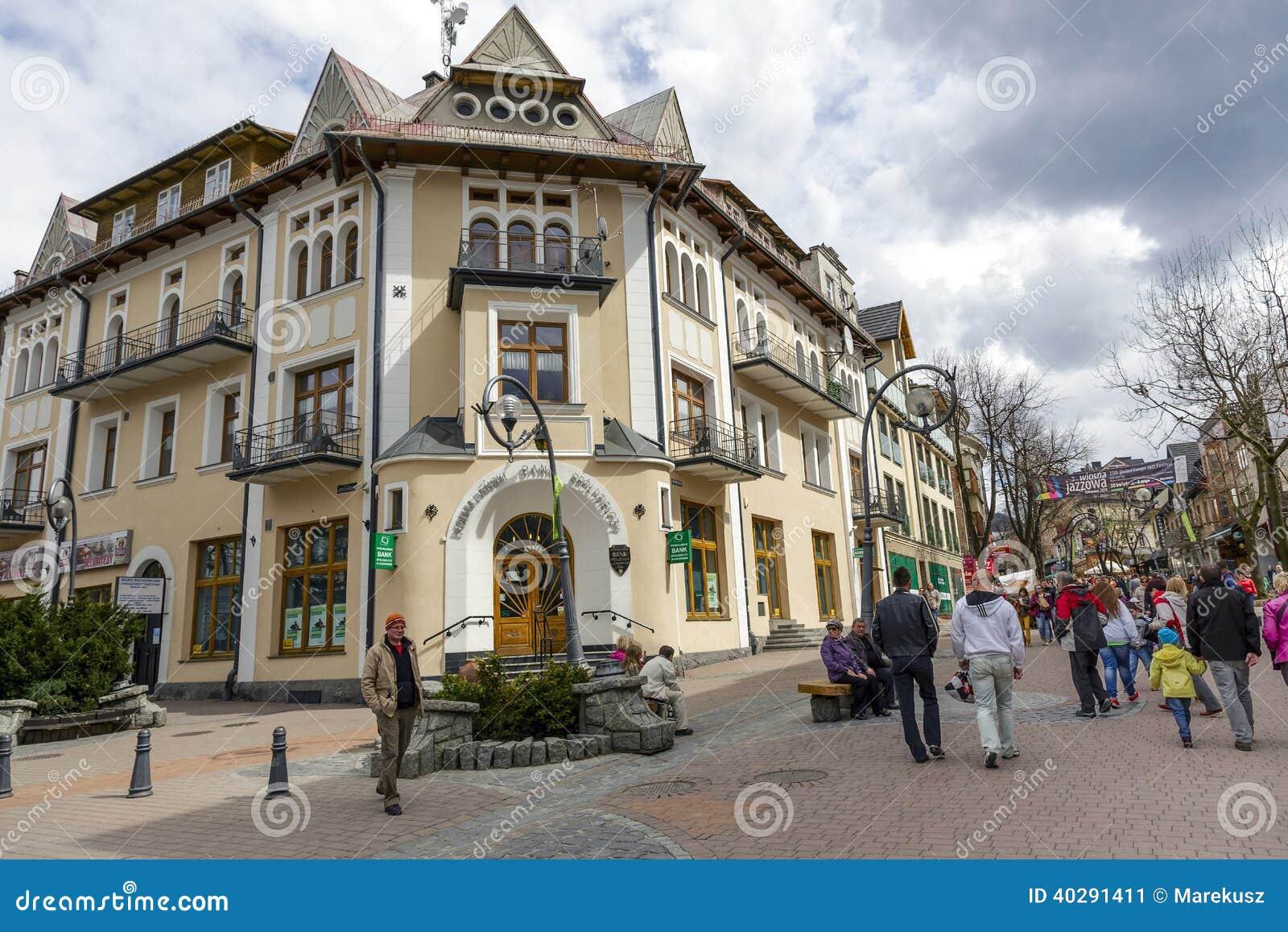 Историческое кирпичное здание в центре города