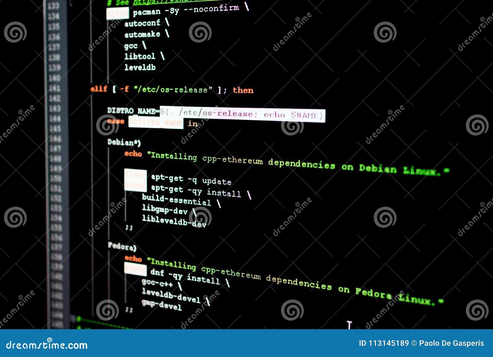 Исходный код Ethereum, cryptocurrency и децентрализованной системы