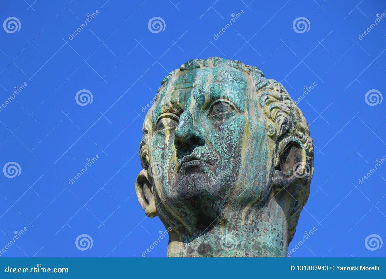Италия rome Статуя Нервы