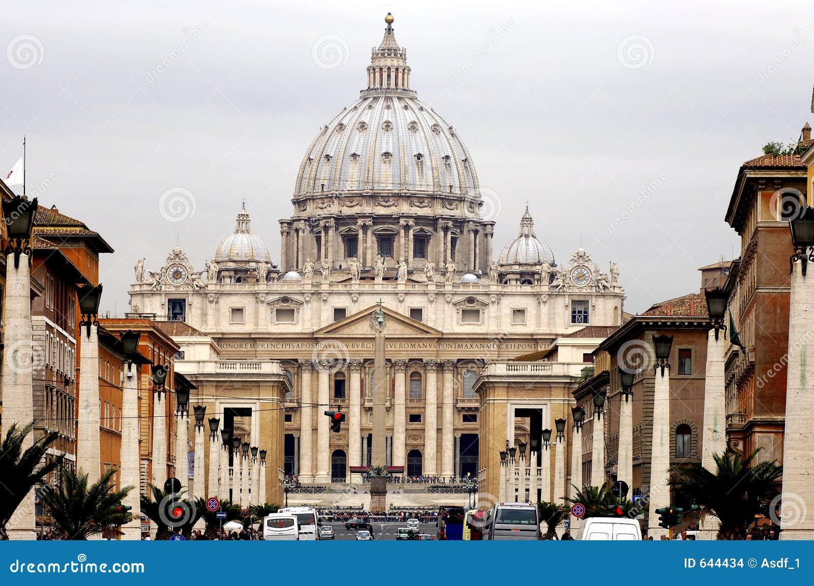 Download Италия rome vatican стоковое фото. изображение насчитывающей зодчества - 644434