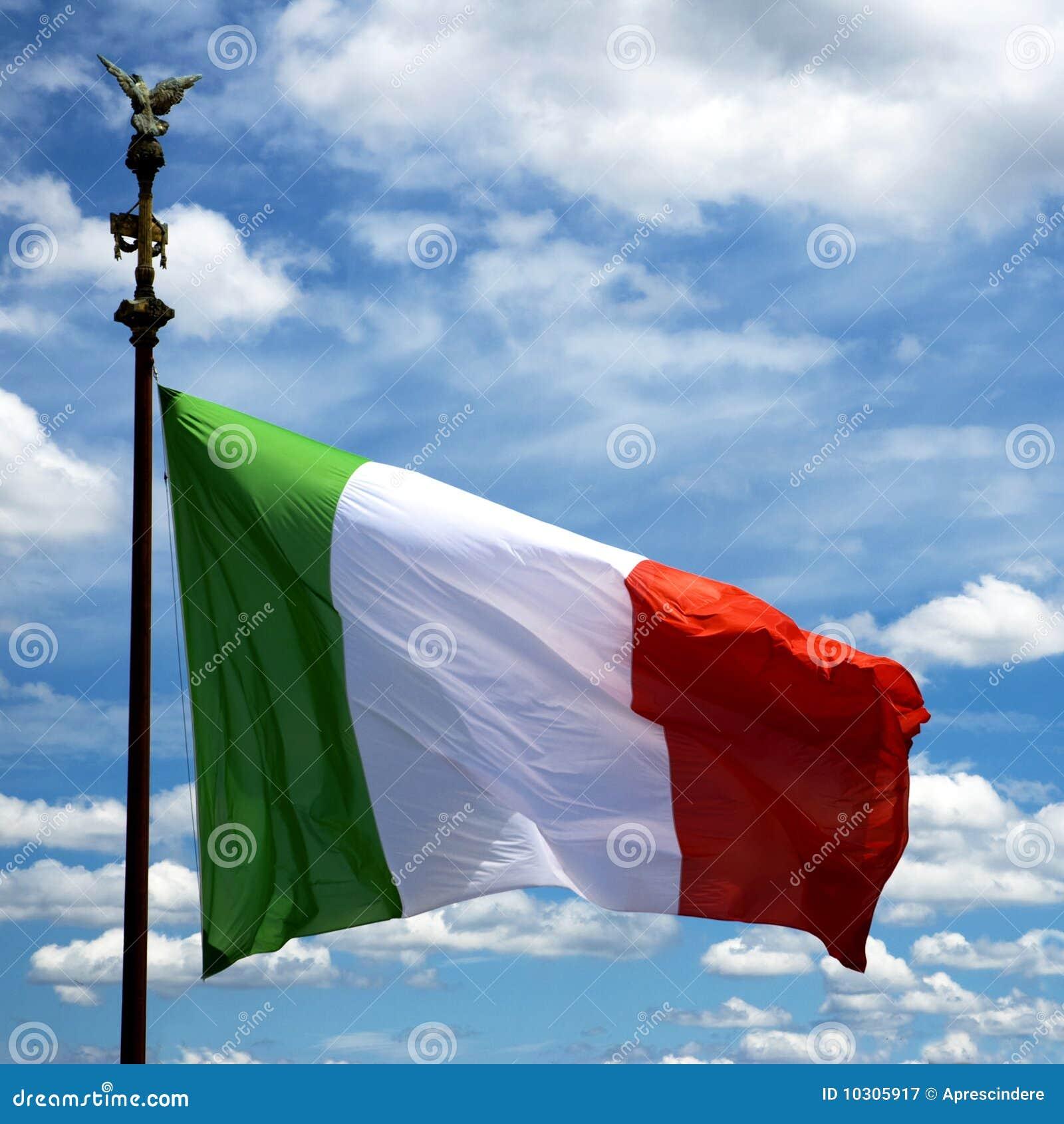 итальянка флага