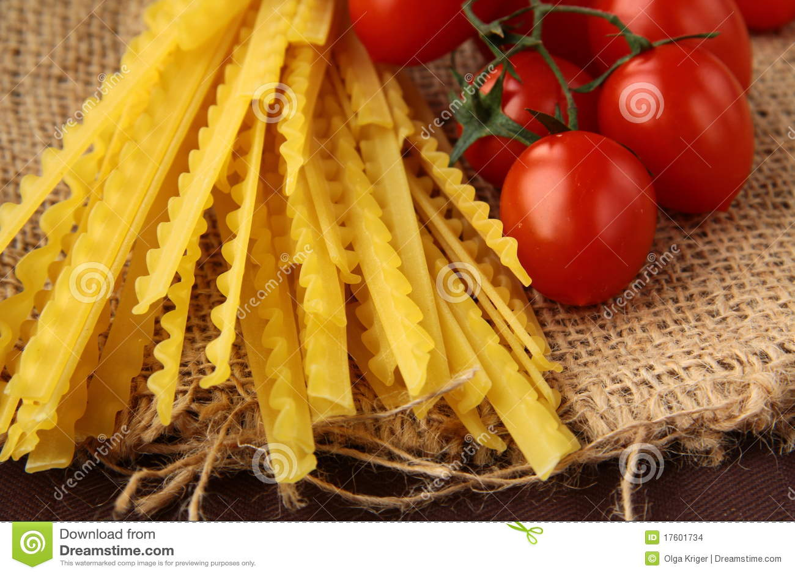 итальянское желание томата макаронных изделия