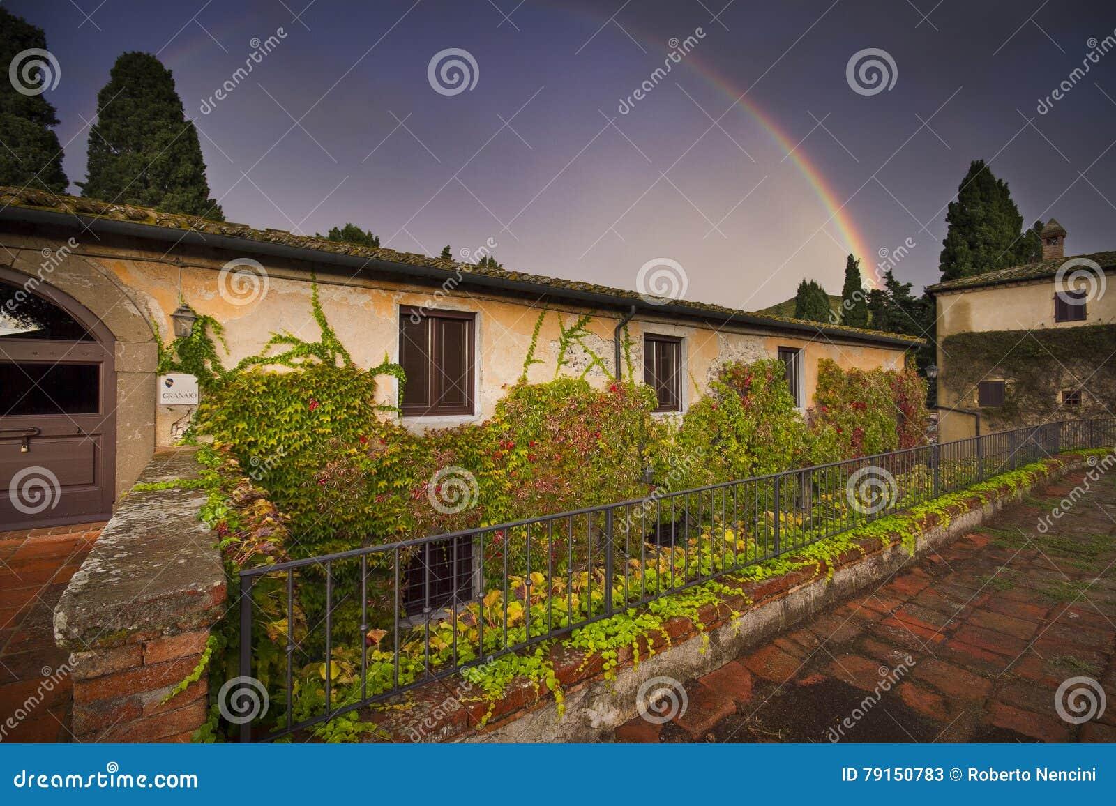 Италия, Тоскана, Пиза, Castello Ginori di Querceto