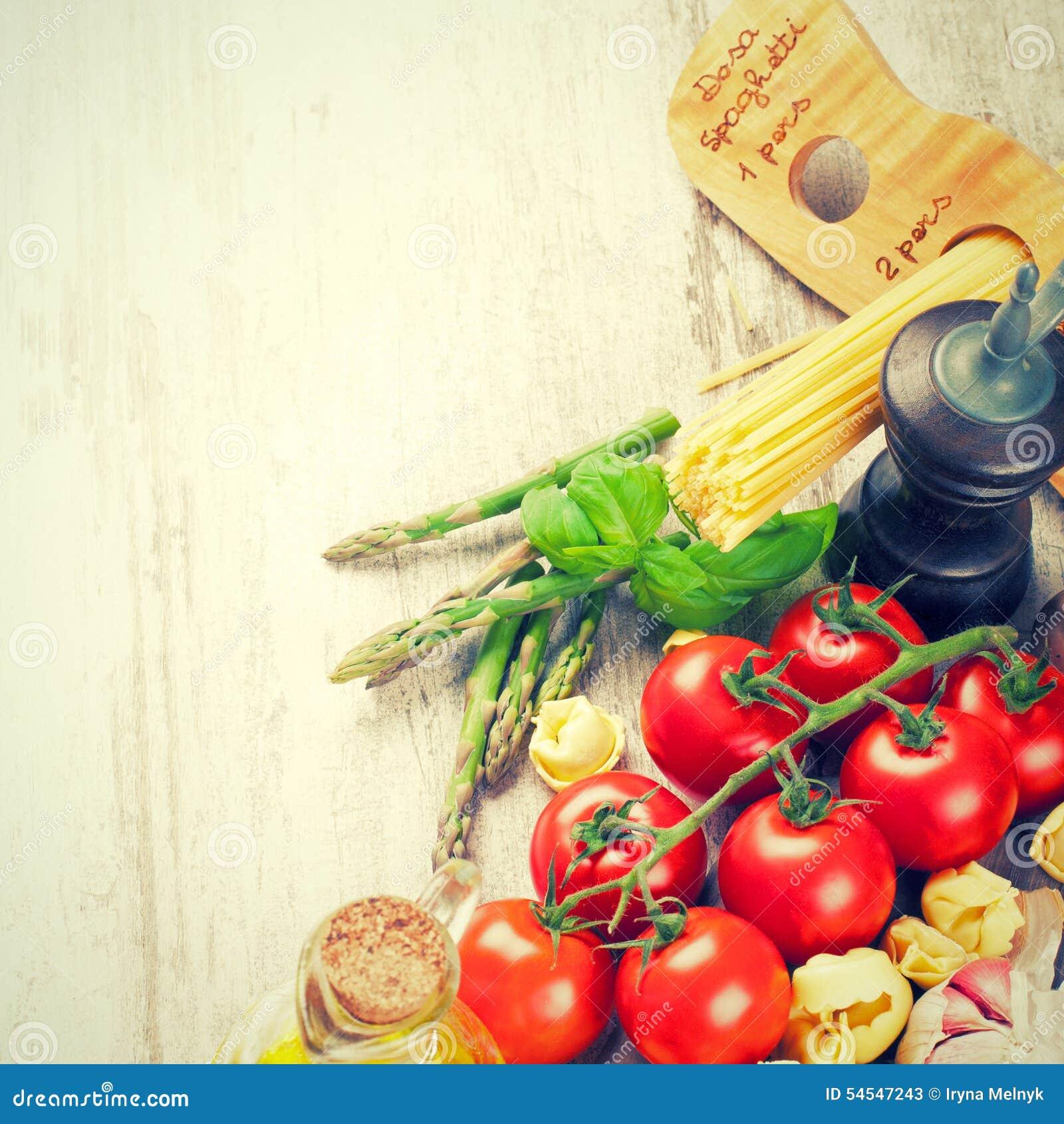 Итальянская предпосылка еды