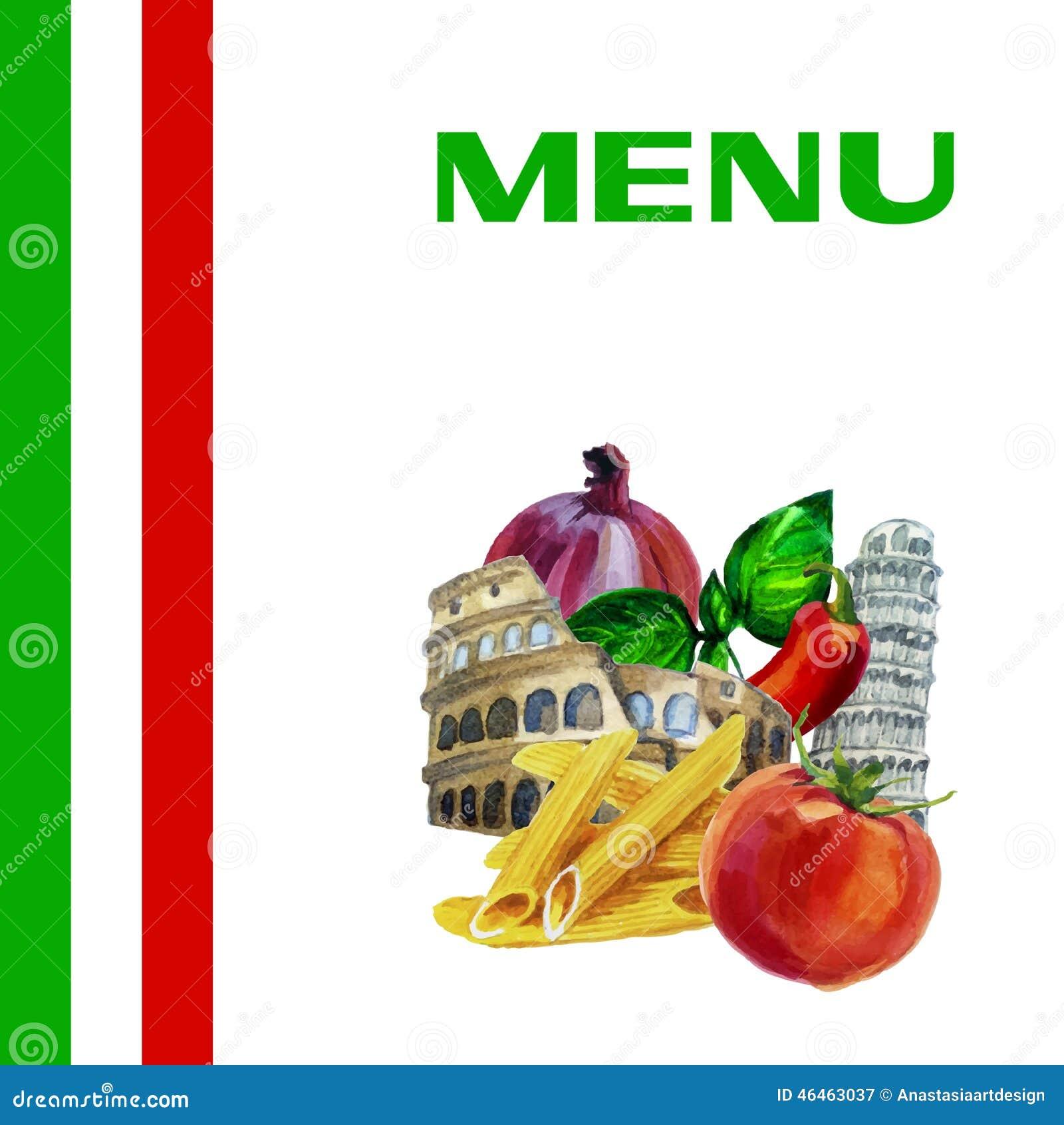 картинки для меню италия
